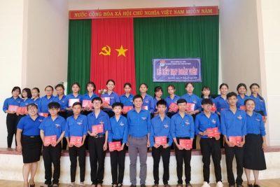 Lễ kết nạp Đoàn viên năm học 2019-2020